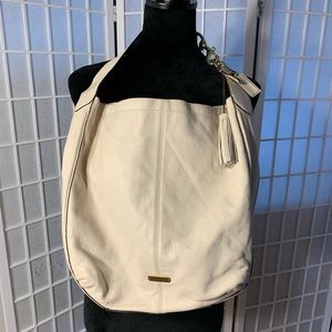 Authentic offwhite Coach hobo style purse hand bag
